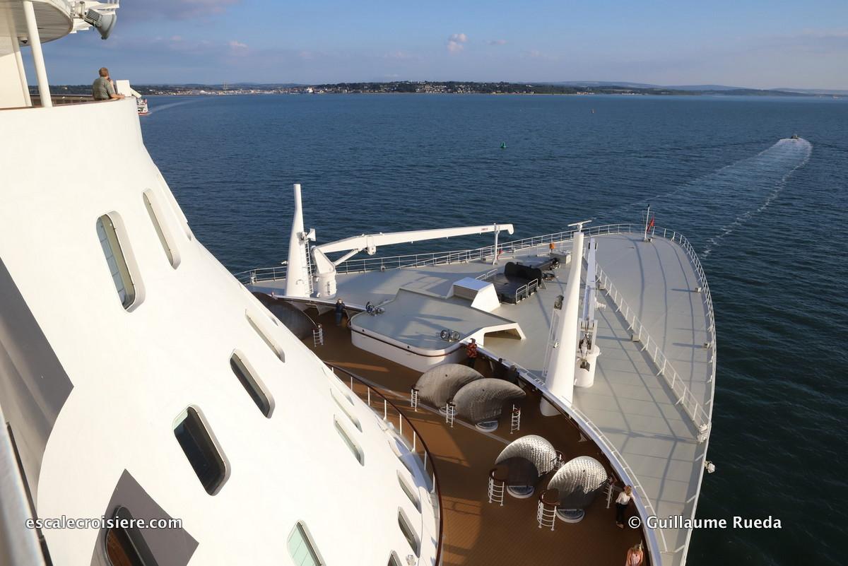 Queen Mary 2 - Départ Southampton