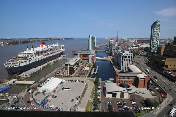 Queen Mary 2 - Escale Liverpool