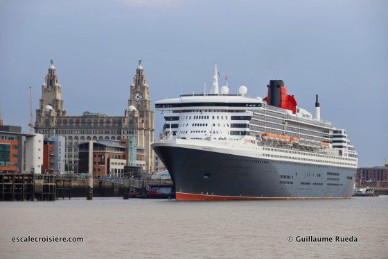 Queen Mary 2 - Liverpool