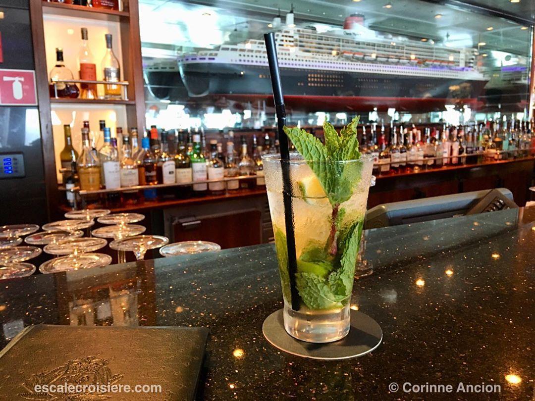 Queen Mary 2 Mojito Commodor Club