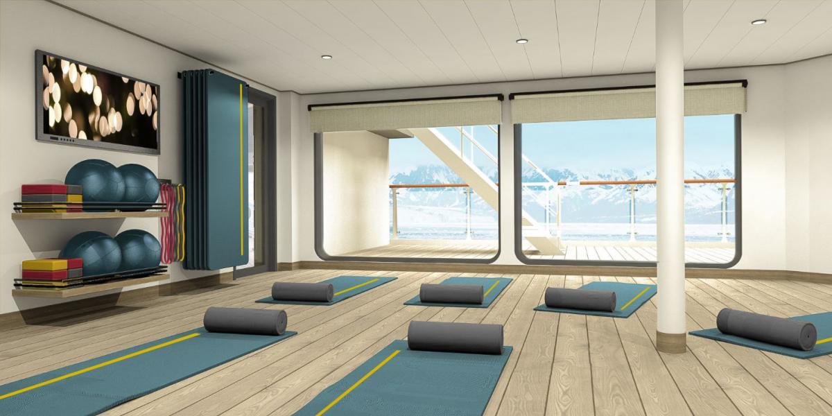Salle Yoga - Ultramarine - Quark Expeditions