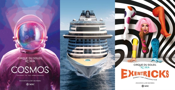 MSC Grandiosa Cirque du Soleil - Cosmos et Exentricks