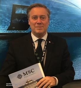 Patrick Pourbaix, Directeur général de MSC Croisières France BeLux