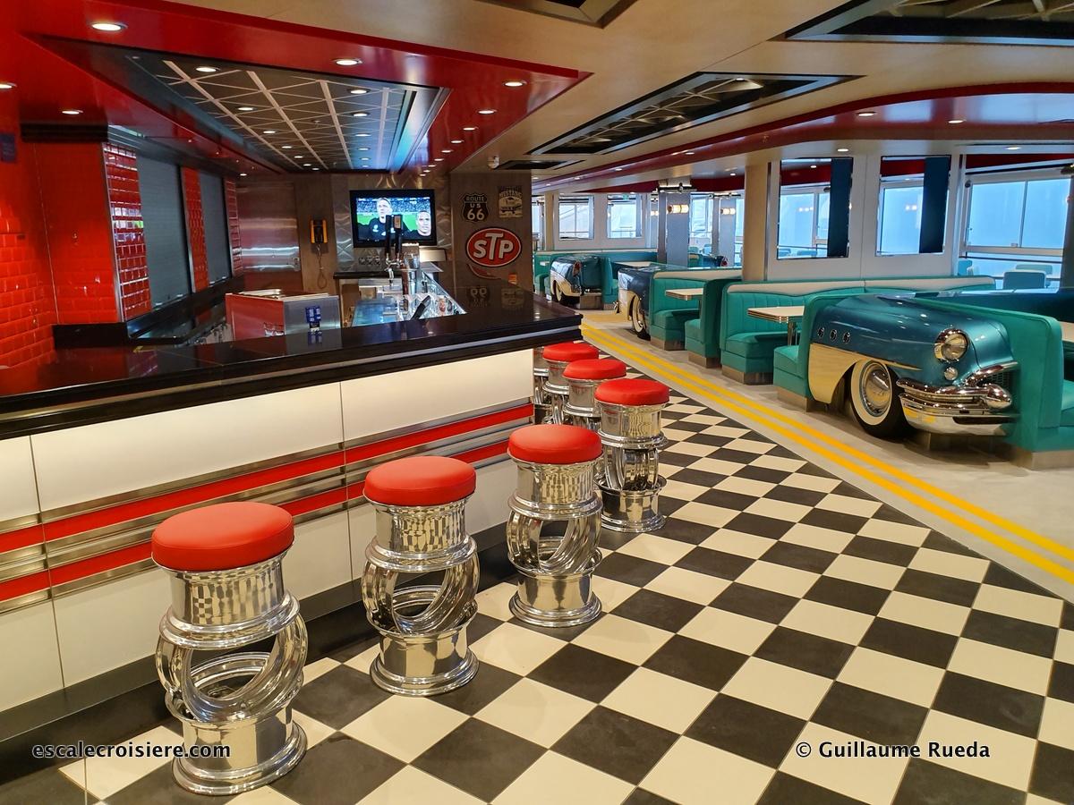 America Diner - Norwegian Encore