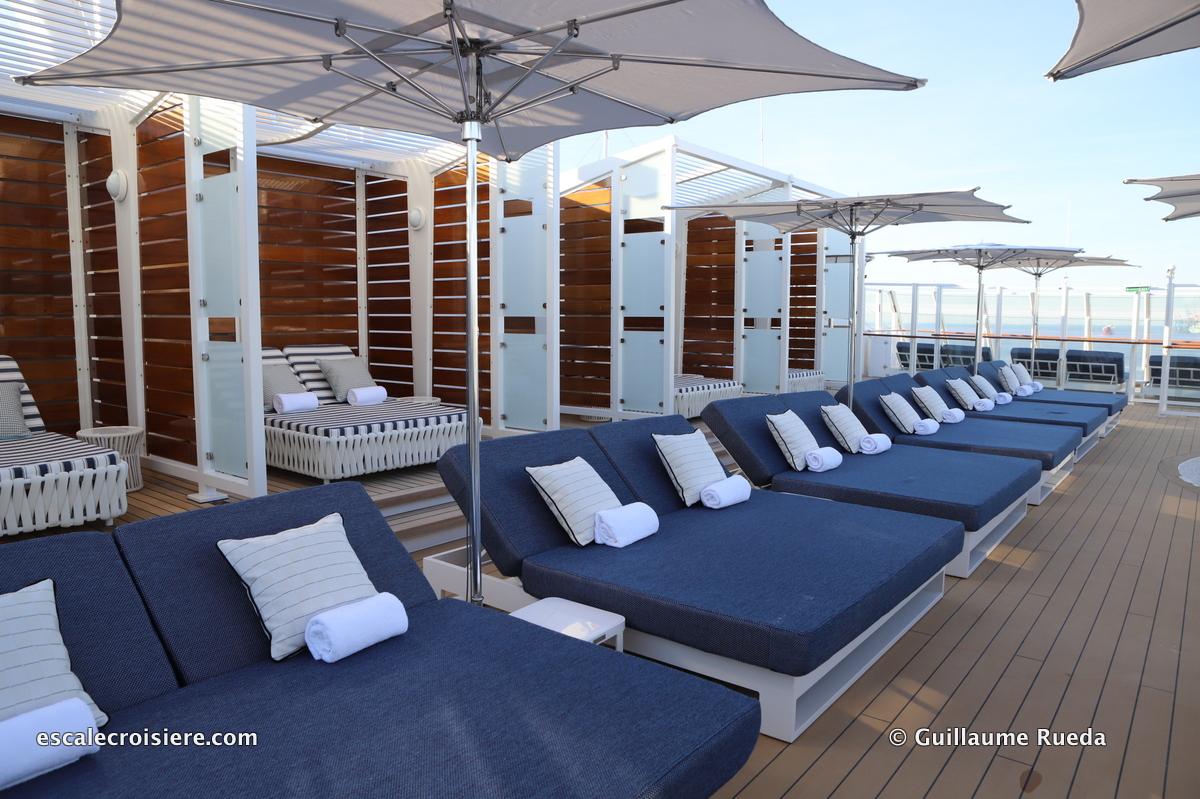Cabanes solarium - The Haven