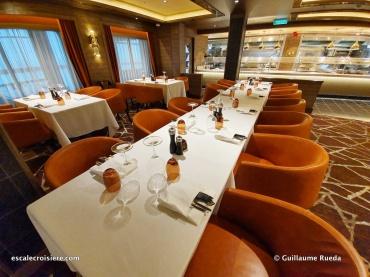 Cagney's steakhouse - Norwegian Encore
