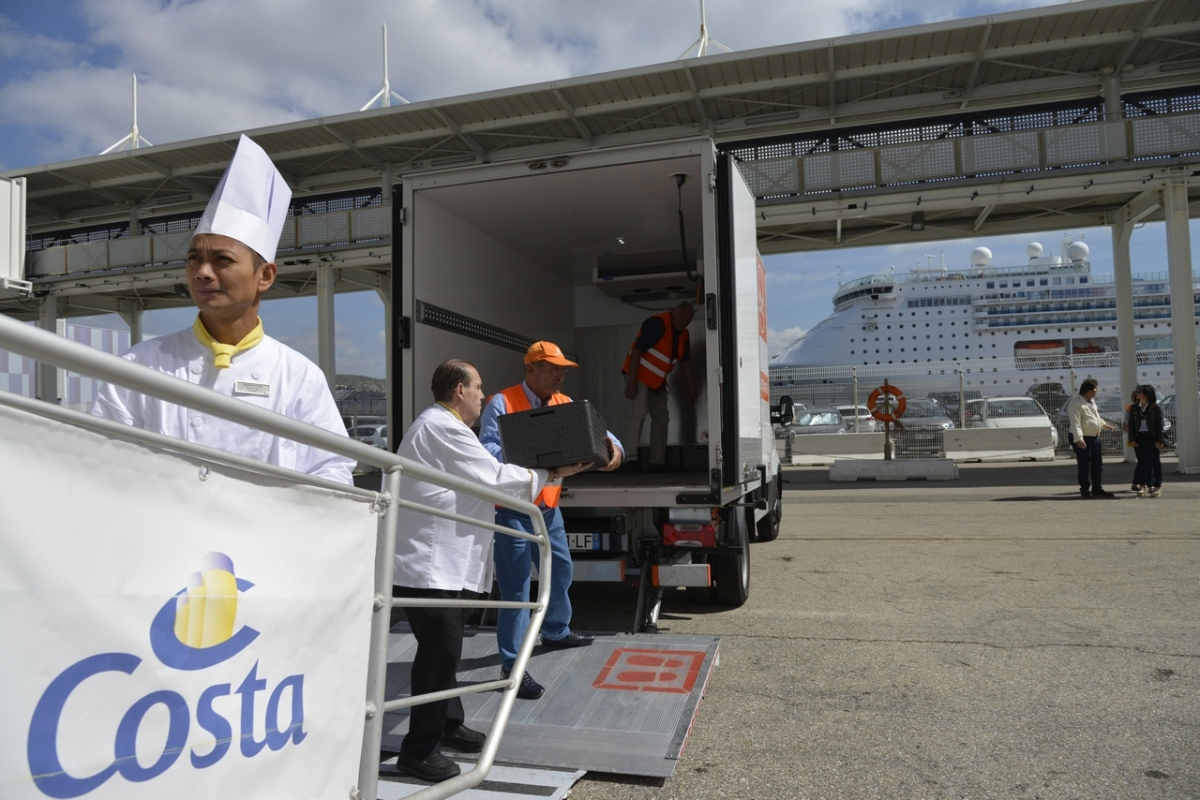 Costa Croisières - Banque Alimentaire #4GOODFOOD