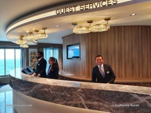 Guest Service Atrium - Norwegian Encore