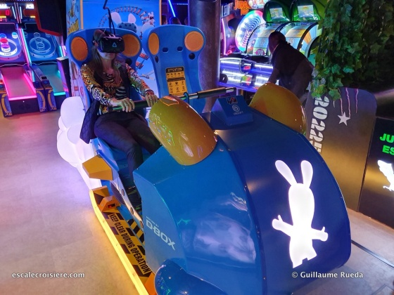 Jeux d'arcades - Norwegian Encore
