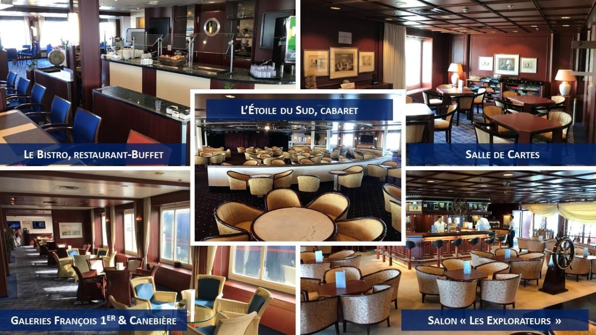 Bars et salons - Jules Verne - Ex Astor - CMV