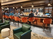 Maltings Whiskey bar - Norwegian Encore