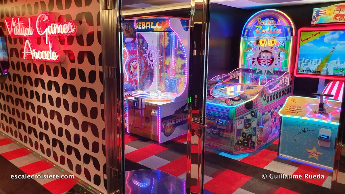 MSC Grandiosa - Arcades