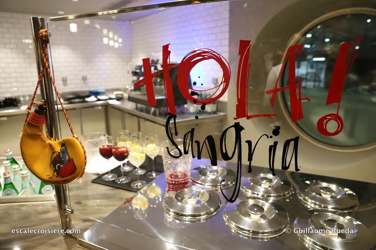 MSC Grandiosa - Hola Tapas restaurant