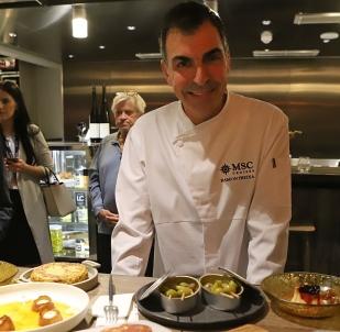 MSC Grandiosa - Hola Tapas restaurant - Ramon Freixa