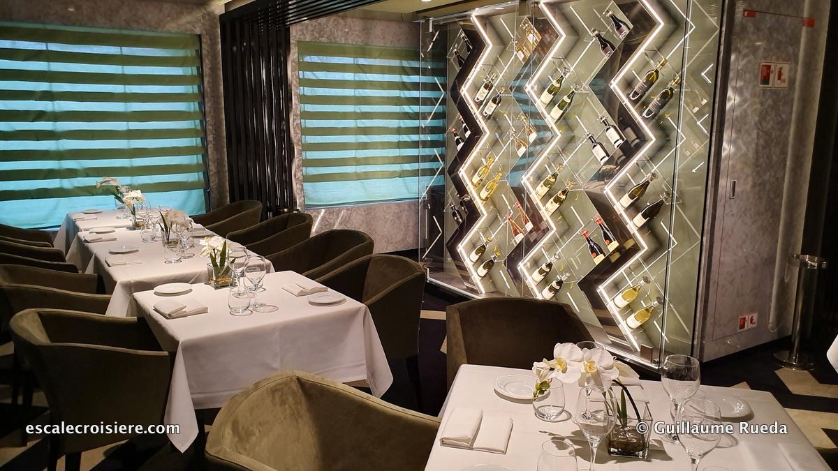 MSC Grandiosa - Il Campo restaurant