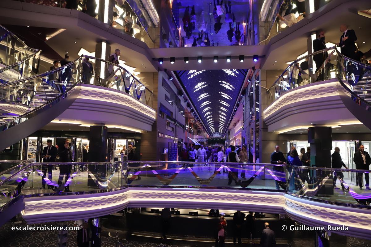 MSC Grandiosa - Infinity Atrium