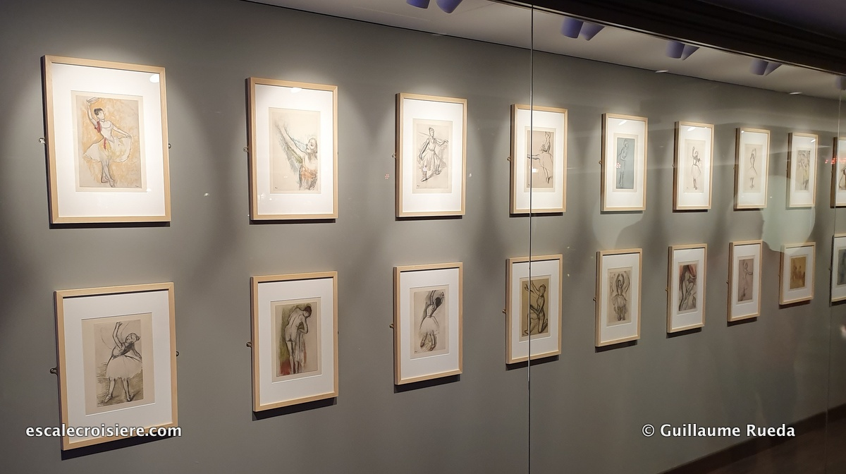 MSC Grandiosa - L'Atelier bistrot - Degas