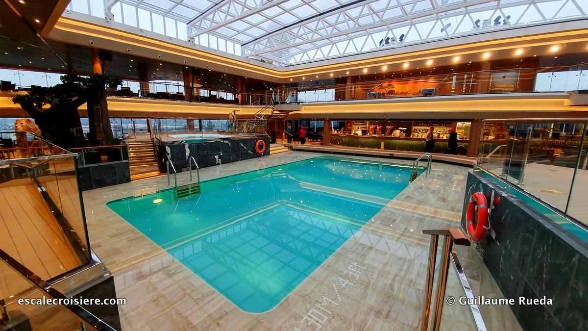 MSC Grandiosa - Safari pool