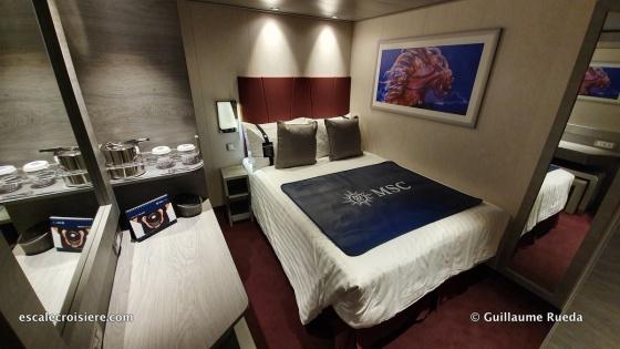 MSC Grandiosa - Studio cabine solo