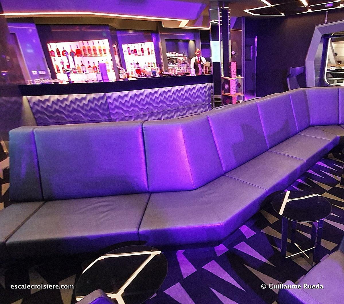 MSC Grandiosa – Studio TV bar | Escale croisière