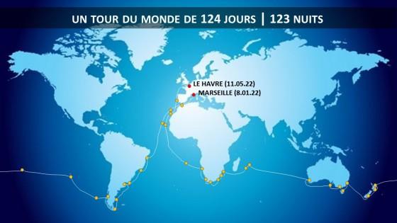 Tour du Monde - CMV - Jules Verne
