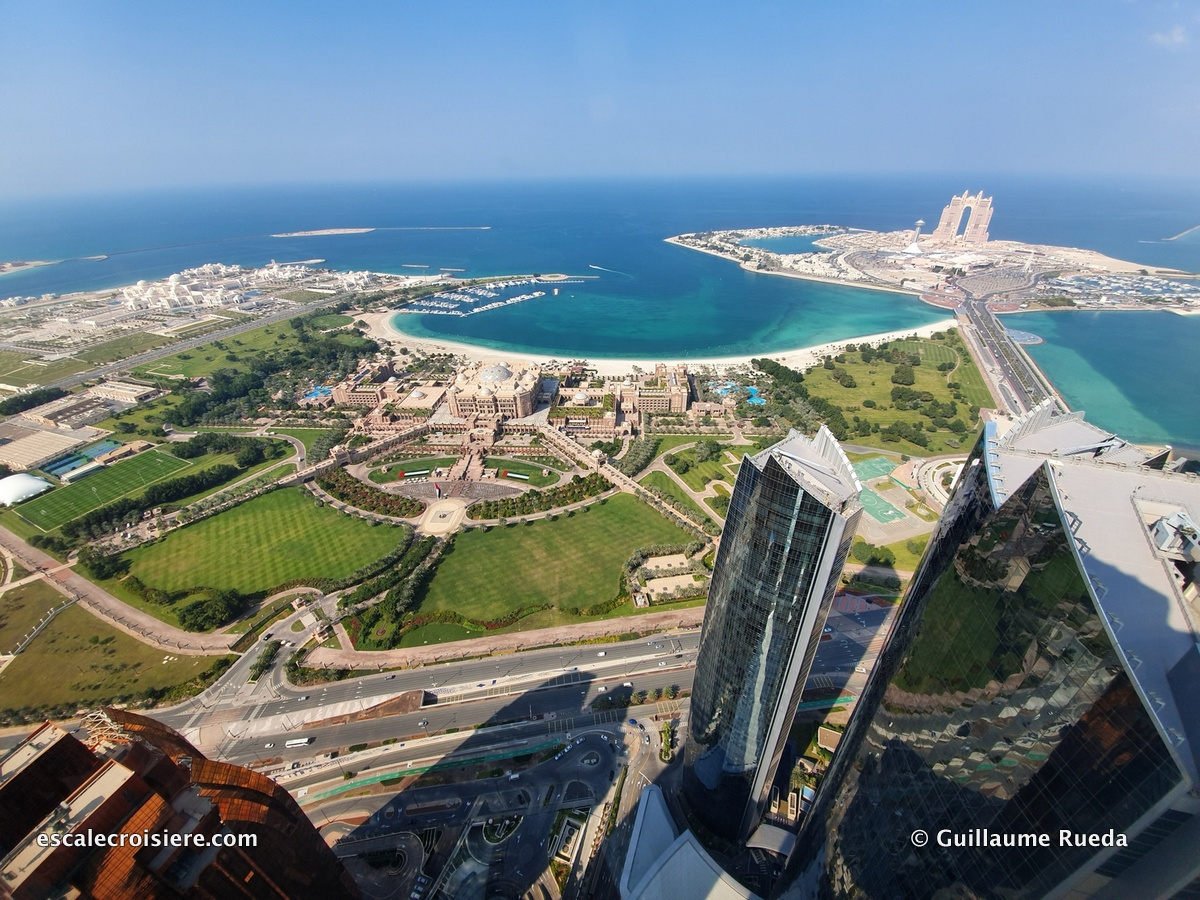 Abu Dhabi - Etihad towers observation deck at 300