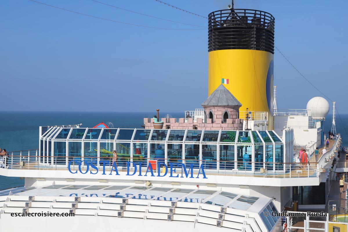 Costa Diadema - piscine