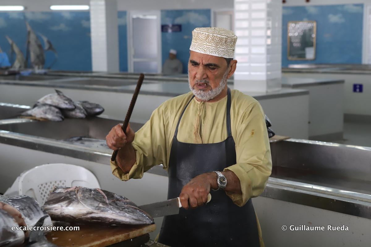 Mascate - Marché aux poissons