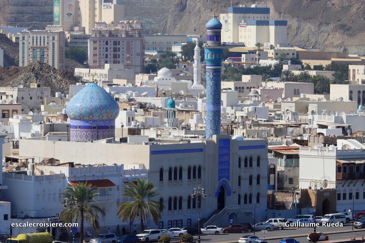 Mascate - La Corniche - Mosquée
