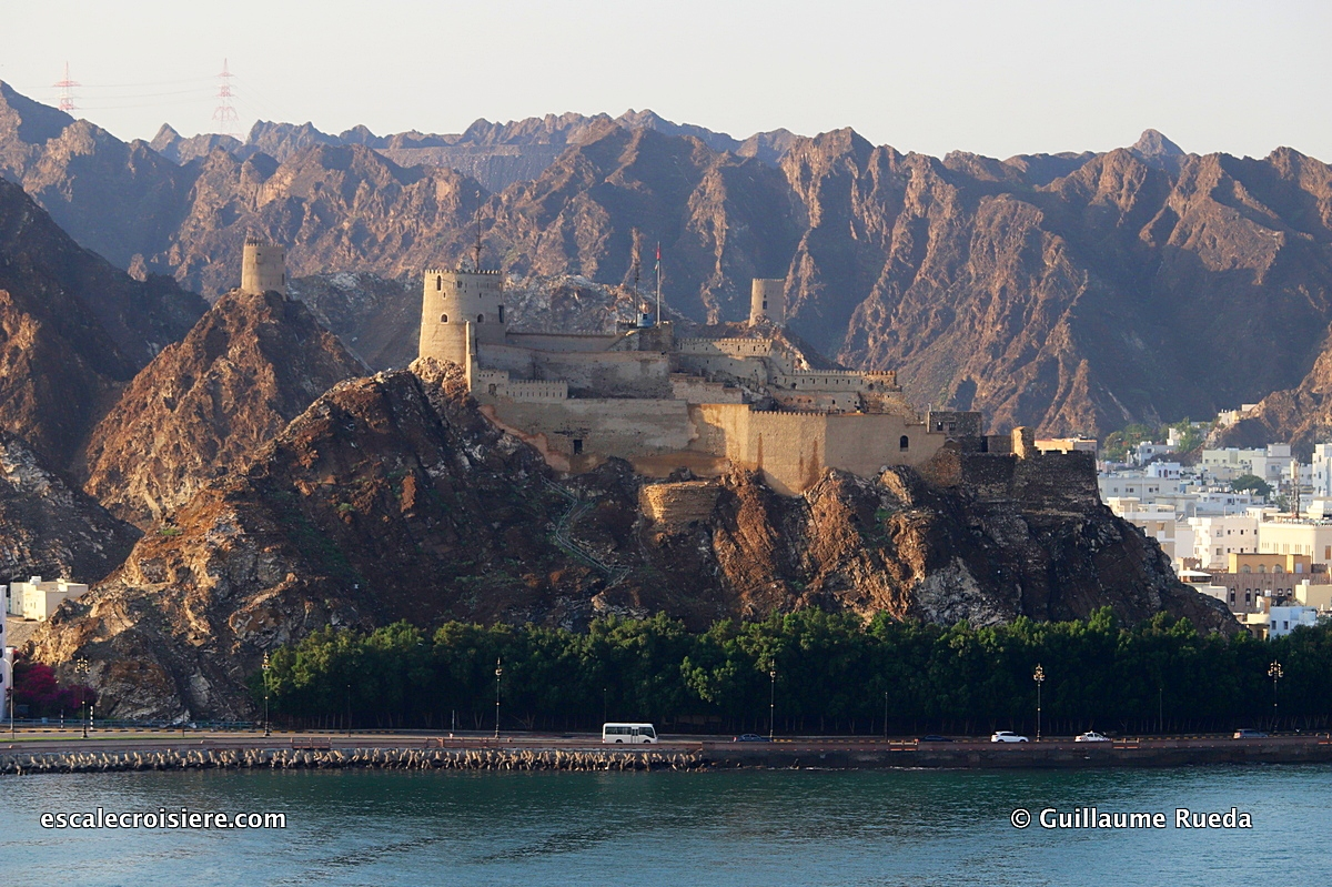 Mascate - Muttrah fort
