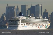 Norwegian Dawn - New York City