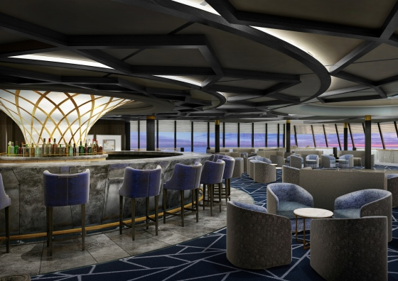 Norwegian Spirit - Spinnaker Lounge