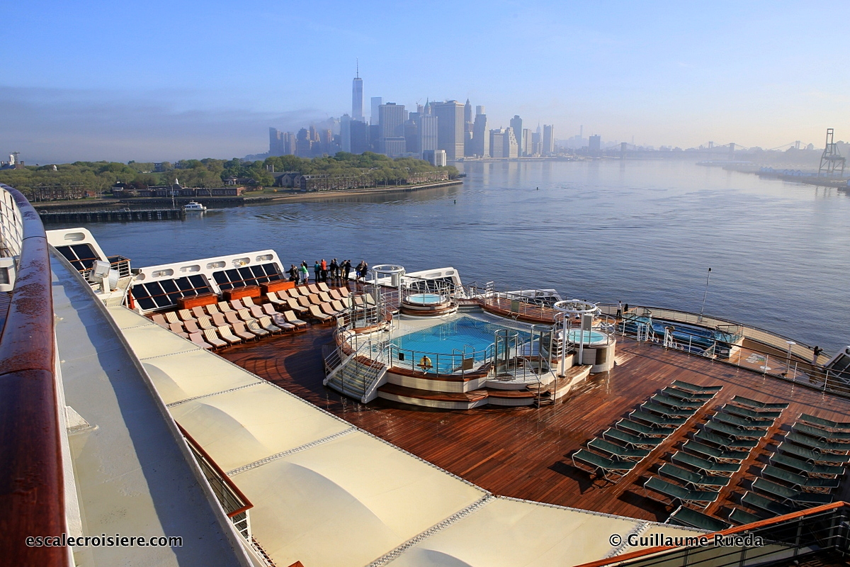 New York - Queen Mary 2 - Terminal Brooklyn