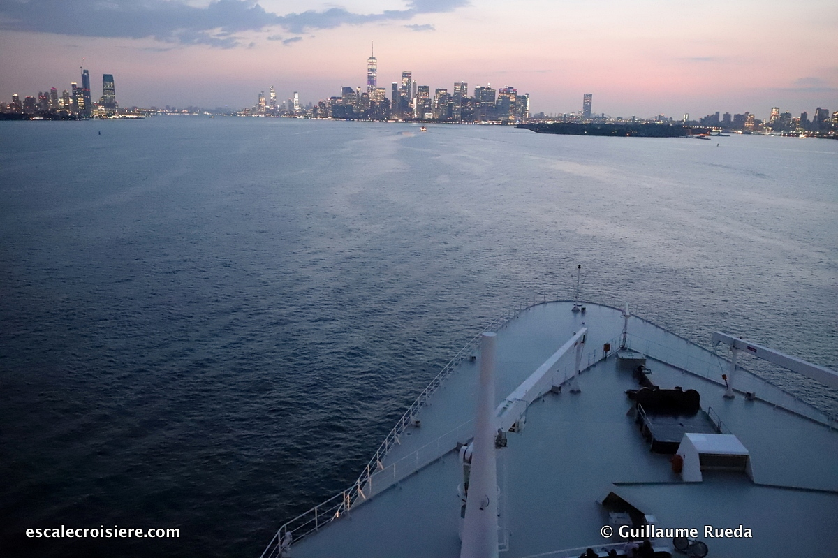Queen Mary 2 - Transatlantique - New York