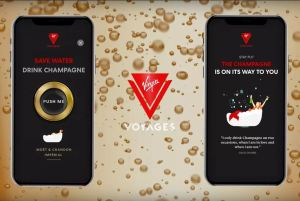 Scarlet Lady - Application - Champagne