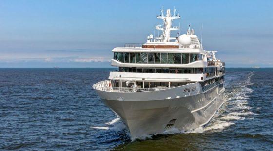 Silver Origin - Silversea - essais en mer