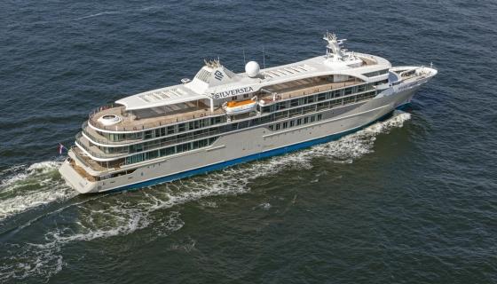 Silver Origin - essais en mer