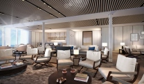 Silver Origin - Silversea -Explorer's Lounge
