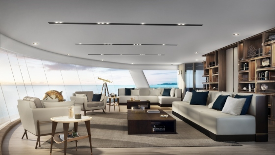 Silver Origin - Silversea - Observation Lounge