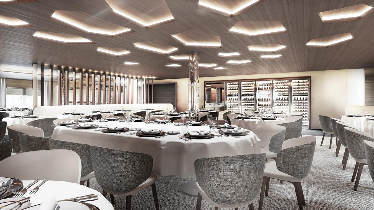 Le Commandant-Charcot_Deck5-Restaurant -vue2_©PONANT-Studio Jean-Philippe Nuel