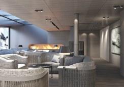 Le Commandant-Charcot_Deck9-Salon-Cheminée_©PONANT-Wilmotte & Associés Architectes