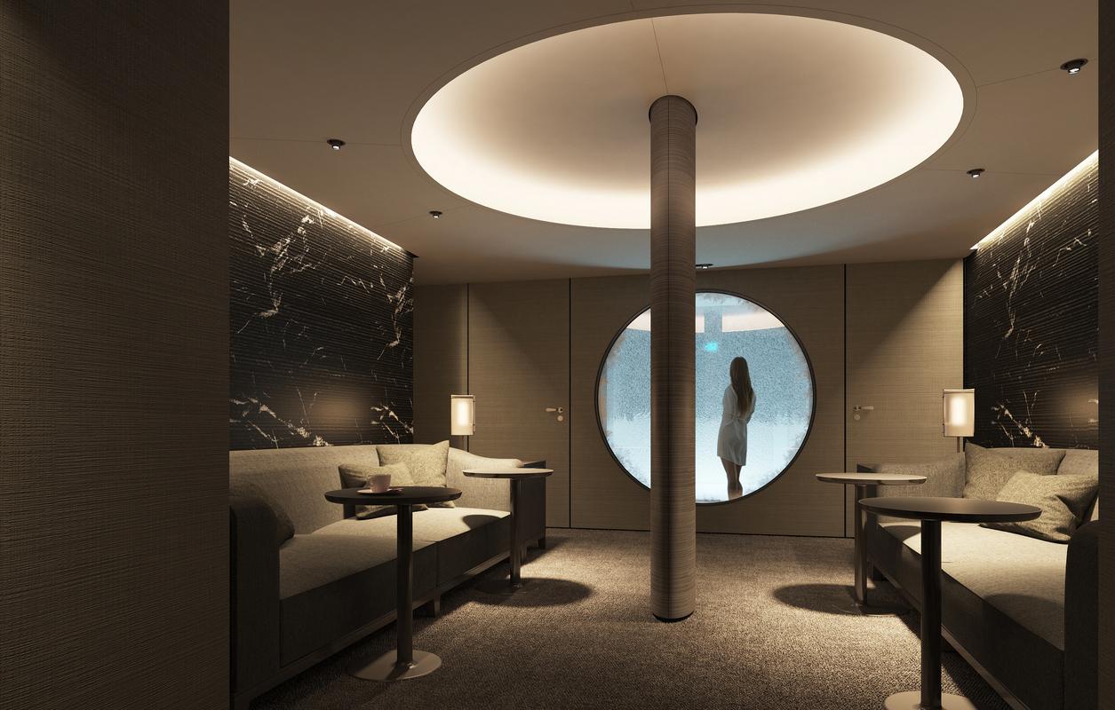 Le Commandant-Charcot_Deck9-Spa-Snowroom_© PONANT-Wilmotte & Associés Architectes