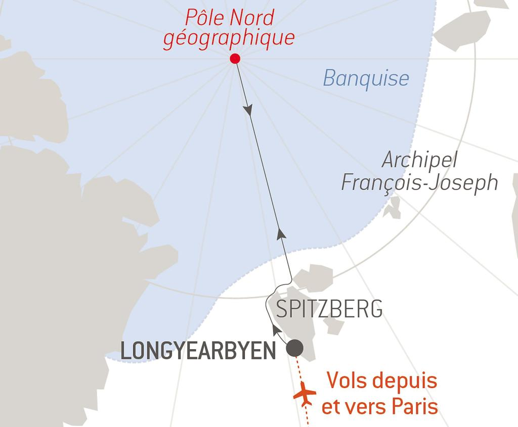 Ponant - Commandant Charcot - Pole Nord géographique