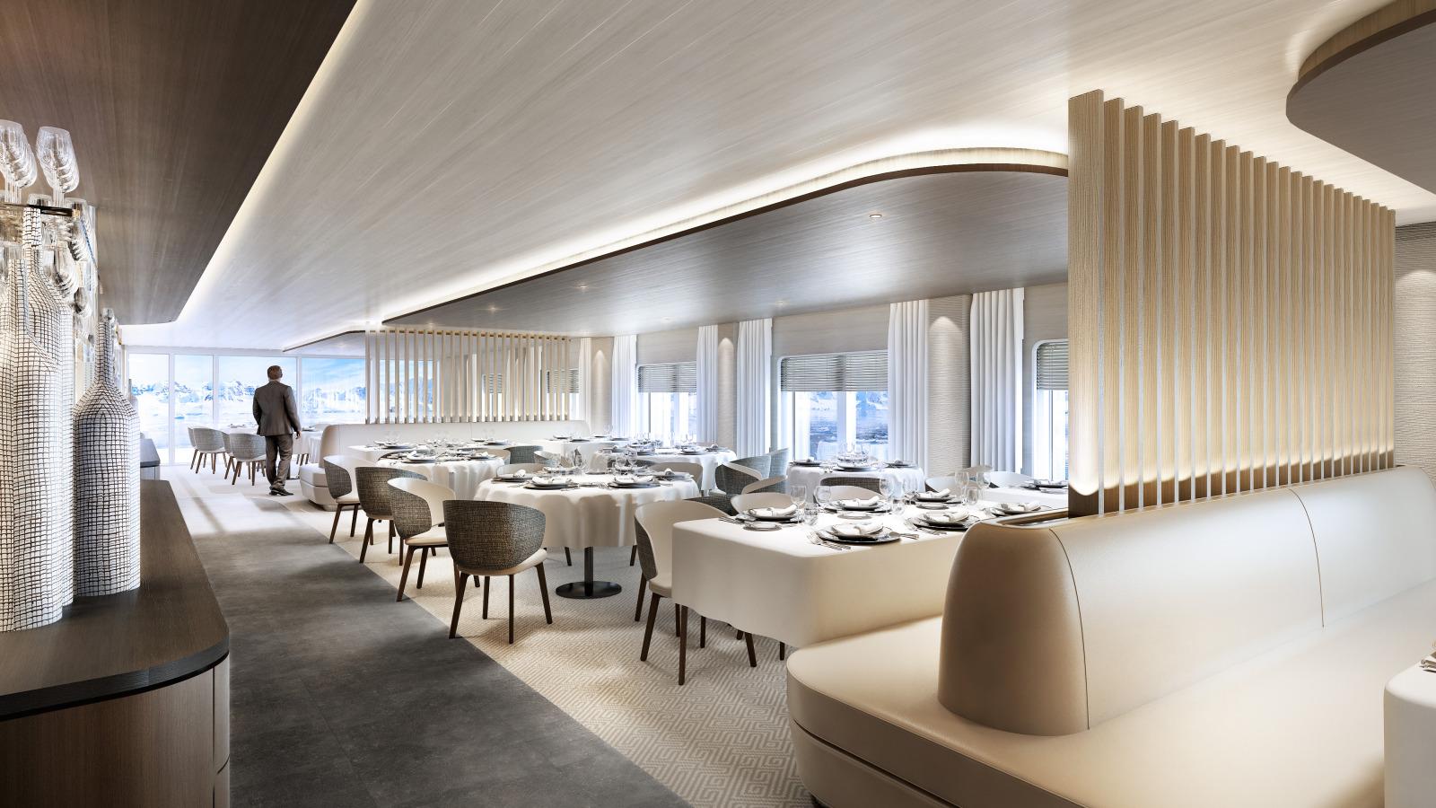 Le Commandant Charcot - Restaurant ©Studio Jean-Philippe Nuel