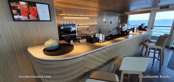 Bar salon observatoire - Le Jacques Cartier - Ponant