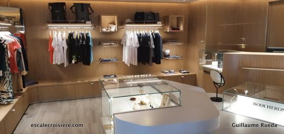 Boutique - Le Jacques Cartier - Ponant