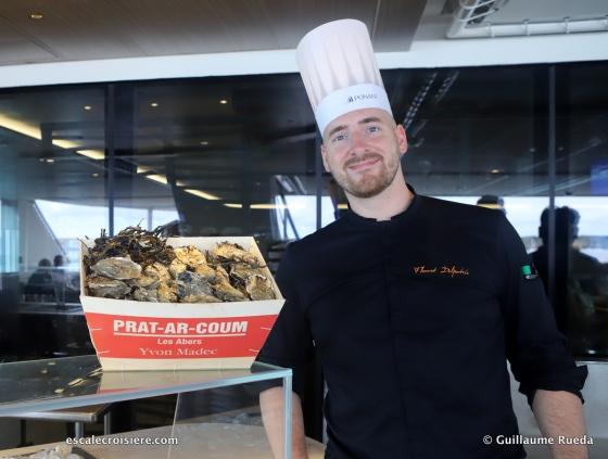 Chef Florent Delfortie - Le Jacques Cartier - Ponant