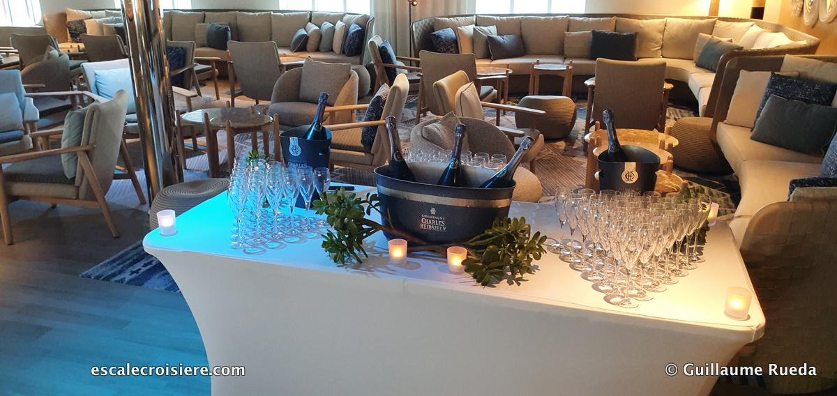 Grand Salon - Le Jacques Cartier - Ponant