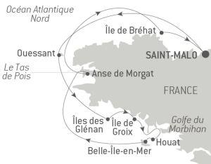 Itinéraire Bretagne Ponant - Le Jacques Cartier
