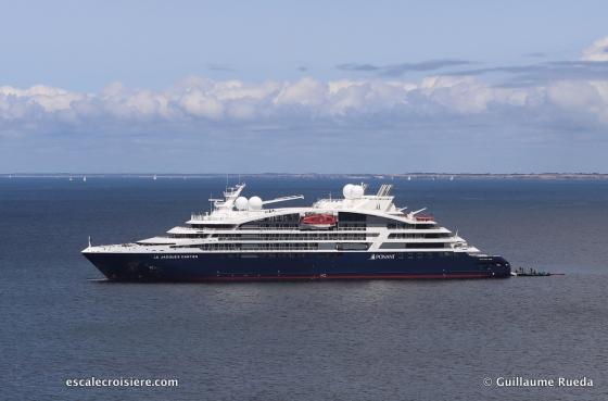 Le Jacques Cartier - Ponant - Belle île en Mer